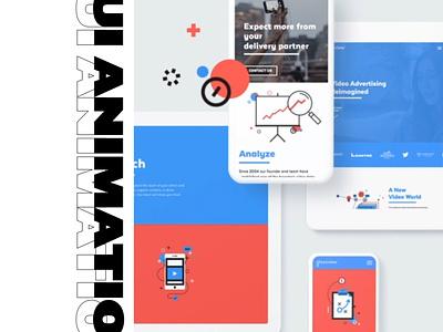 Motionblur Studios showreel ux apple tablet iphone after effect illustration vector aftereffects animation art design ui designer 2d animation ui design
