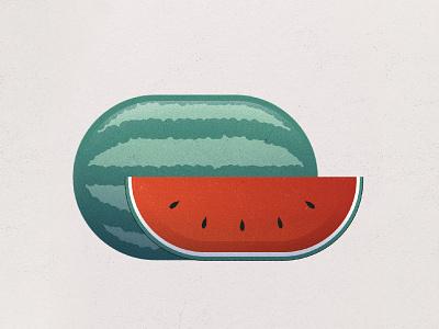 Watermelon family red green sweet health fresh photoshop illustration art design watercolor instagram vino wine alcohol drink fruit watermelon
