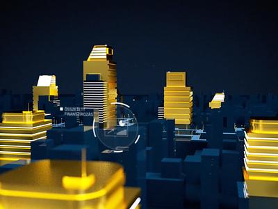 Exim bank animation bank card tresor money gold bank illustration art animation 3d design behance