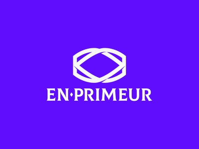 En Primeur alcohol online diamond craft monogram luxury wine creative identity logo design logo dribbble branding brand design
