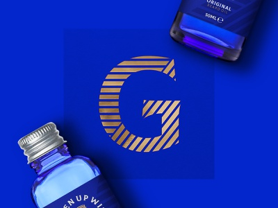 Freshen Up With gold foil type gold graphic  design packaging design packaging beard blue identity typography logo branding brand design