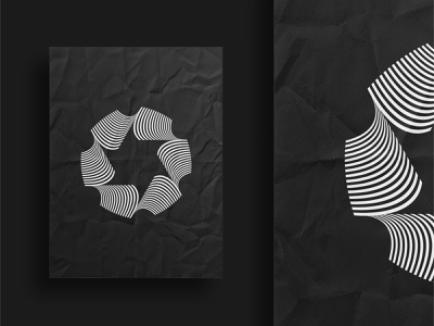 Abstract Logo brand design star lineart creative logo design graphic  design dribbble branding brand vector black logo abstract logo poster abstract