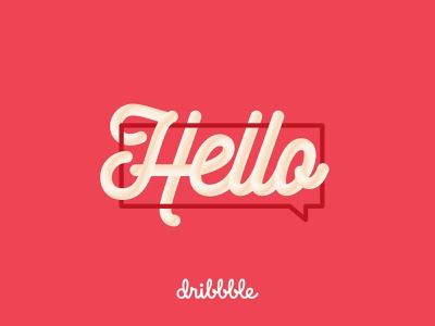 Hello Dribbble – My name is Ashley Paul graphic  design vector typography design dribble hello dribbble typogaphy