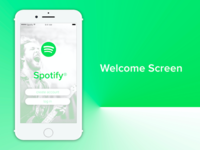 Spotify Light UI Redesign