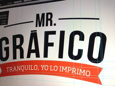 Mr. Gráfico logo
