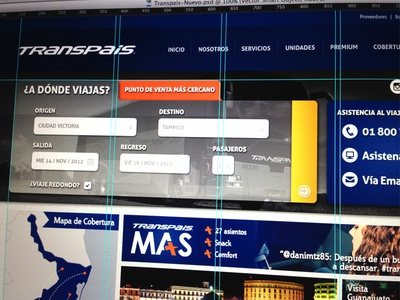 Transpais web wordpress
