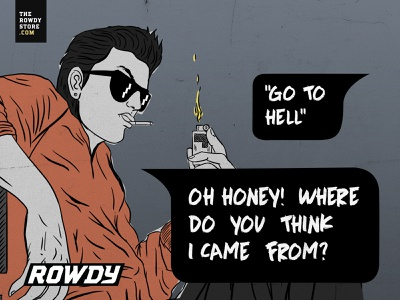 Rowdy Comics rowdystore therowdystore illustrator illustration comic art rowdycomics comics rowdified rowdy