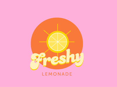 Freshy flat design 70s branding personal project logo illustrator vector art