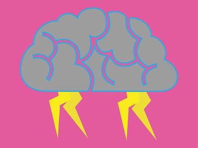 Brainstorming brain vector logo illustrator illustration design illustration dribbble best shot illustration art personal project flat design vector art