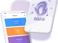 BudMe - Mobile Social App - Find & Play