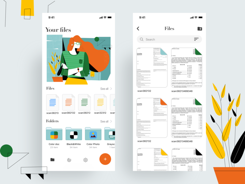 Files & Folders App