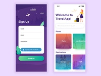Daily UI Challenge - SignUp #001