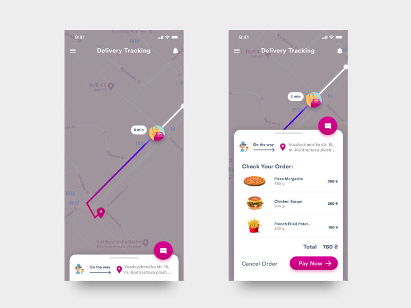 Daily UI Challenge - #020 Location Tracker location tracker 020 daily 100 dailyui ui ios mobile sketch