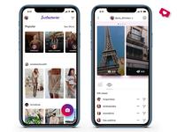 Instastories • for Uplabs Instagram Redesign Challenge