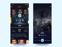Daily UI Challenge - #025 TV App