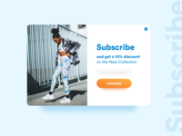 Daily UI Challenge - #026 Subscribe