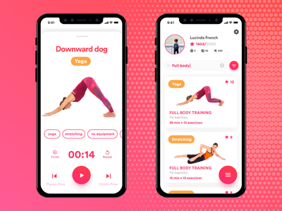 Daily UI Challenge - #041 Workout Tracker 041 workout tracker design daily 100 dailyui ios mobile sketch