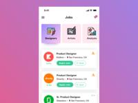 Daily UI Challenge - #050 Job Listing