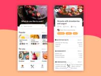 Daily UI Challenge - #040 Recipe
