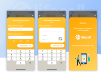 Balance Refill Flow for Lifecell App