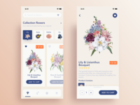 Flowers delivery App