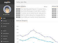 Zopim Dashboard