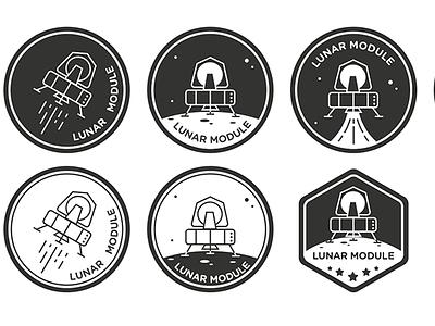 Lunar Module lunar module space animation gif zopim zendesk spaceship logo