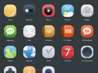 Miui icon set enlarge