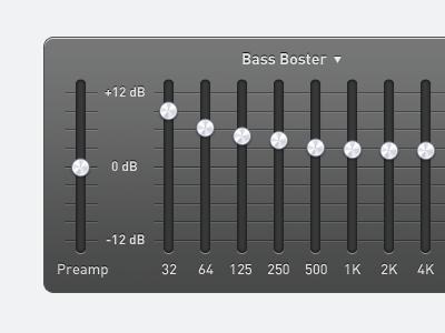 Quickualiser quickualiser equaliser ui sound