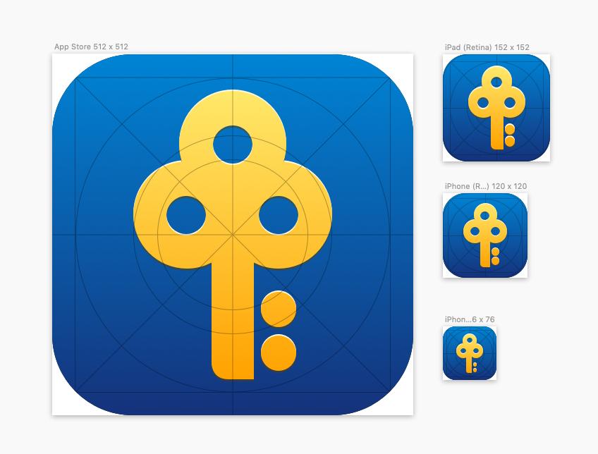 Posb app icons