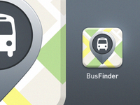 Bus Finder app icon
