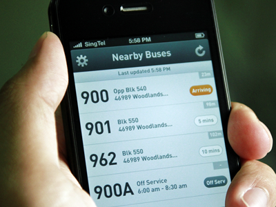 Bus Finder app bus map icon iphone bus finder location directory ui interface list