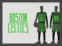 Boston Celtics Alternative Uni idea x2
