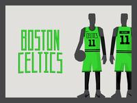Boston Celtics Alternative Uni x3