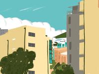 Tbilisian urban sketching