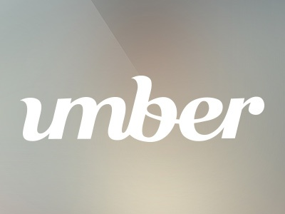 umber logotype logotype lettering typographic typo typorgraphy letters logo design caligraphy minimalistic text font