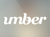 umber logotype