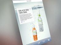 Aloe Vera drycken mobile site