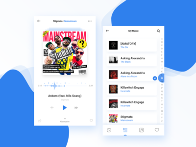 Music Player ux ui figma music player ios app ios app