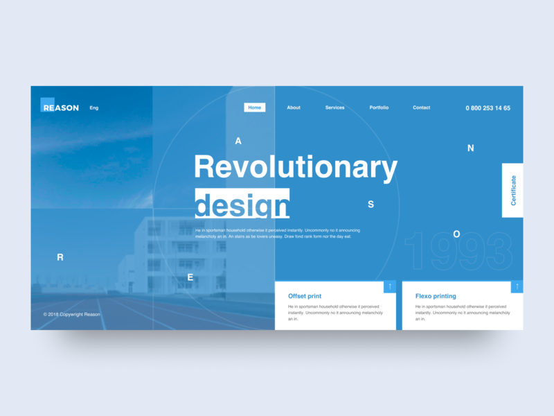 Reason - Typography typography grid desktop clean app web minimal concept figma ux ui