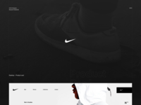 Nike - concept website