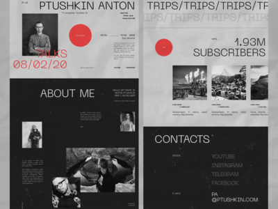 Anton Ptushkin - website