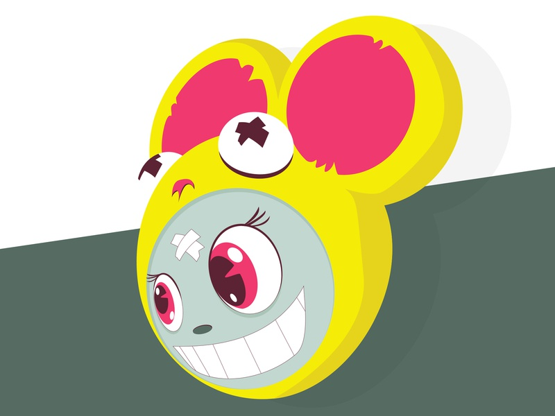 And Then Day 39 cute kawaii vector design frooney color theory vector art design challenge character design cartoon cartooning illustration drop shadow