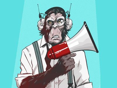 Sci-fi Chimp