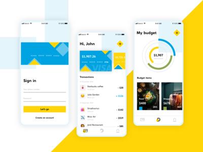 Wallet/Budgeting app