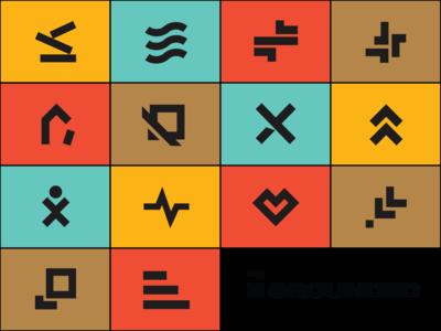 Grounded Icons icondesigner icondesign icon design iconography icon icons brand design nonprofit graphic design design branding