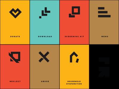 Grounded Icons 3 nonprofit iconography icons icon designer icon design icondesign icon graphic design minimal design branding brand designer brand design