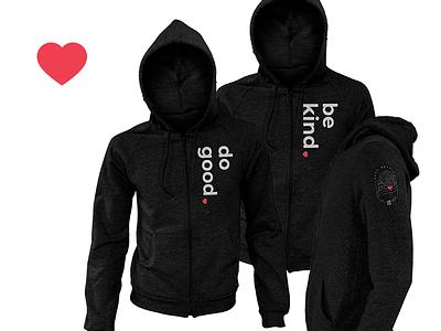Cura Hoodies screenprinting screen print hoodie nonprofit nonprofits branding graphic design apparel design