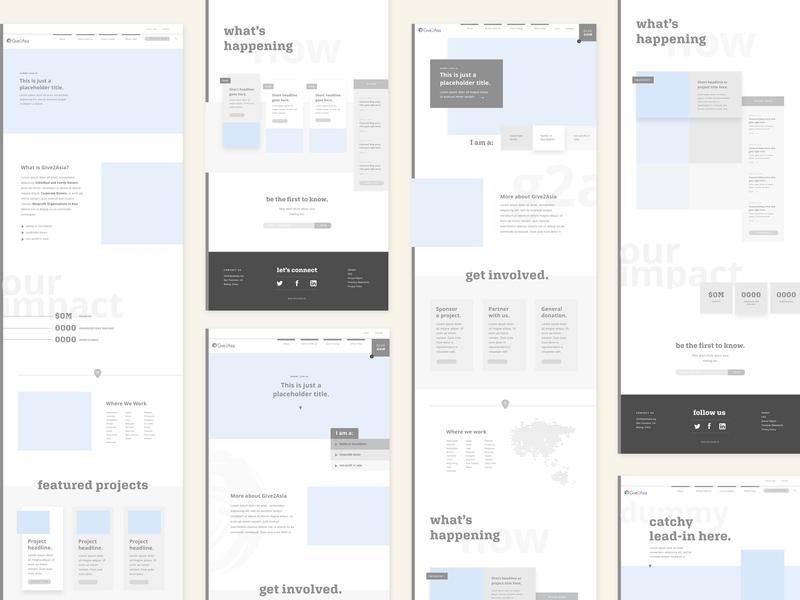 G2a Homepage Wireframes uidesign design web web design wireframes