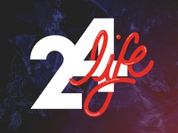 24life Hand Lettering